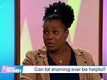 Loose Women's Brenda Edwards reveals she was fat-shamed into losing four stone by Simon Cowell