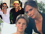Inside the Beckhams' Miami family holiday: Victoria belts out Beyonce as David enjoys dance lessons