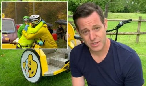Matt Baker makes emotional return to The One Show as he pays tribute to co-star