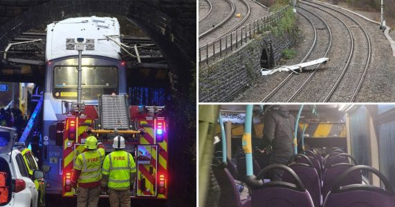 Swansea bus crash: Multiple injuries as double-decker hits railway bridge