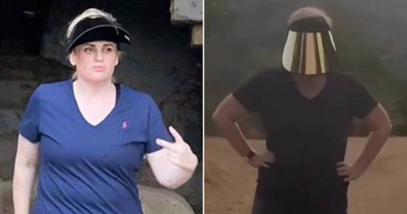 Rebel Wilson takes her 'year of health' to abandoned zoo on casual hike