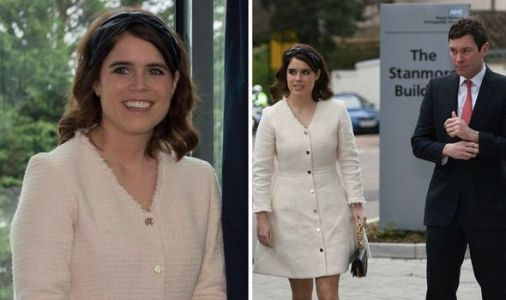 Princess Eugenie opens hospital very close to her heart with husband Jack by her side