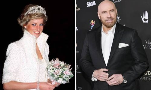 John Travolta makes emotional confession about dancing with Princess Diana