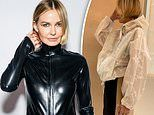 Lara Worthington is the definition of style as she poses in Louis Vuitton activewear
