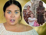 Scarlett Moffatt defends The British Tribe Next Door and claims that her family leftwater borehole