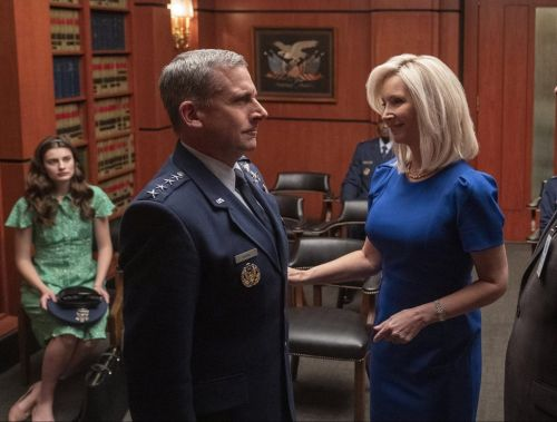 Lisa Kudrow teams up with Steve Carell for Netflix comedy Space Force