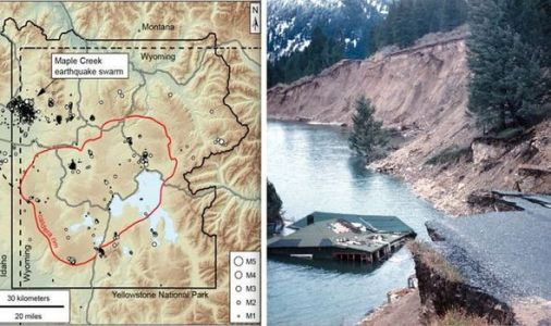 Yellowstone volcano: How a magnitude 7 EARTHQUAKE rocked Yellowstone again after 60 years