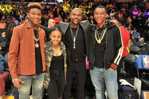 Floyd Mayweather's daughter Iyanna arrested for 'stabbing NBA Youngboy's lover'