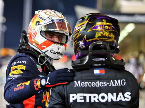 Max Verstappen's boss fires shots at Lewis Hamilton using George Russell example