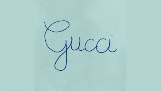 Gucci goes viral with handwritten logo