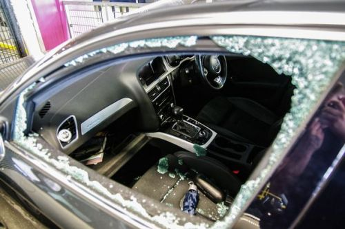 Manchester Airport passengers return home to find cars smashed up in 'safe and secure' car park