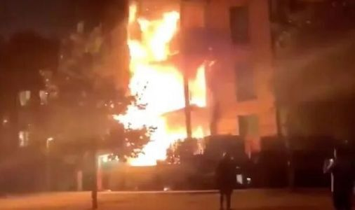 Hackney Fire: Woman Led To Safety From East London Apartment Block Blaze