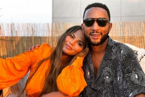 First snap of Chrissy and John Legend's third child as couple unveil 3d scan