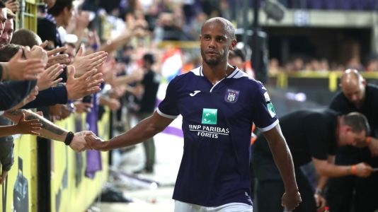 Anderlecht fined for allowing Vincent Kompany to coach team without license
