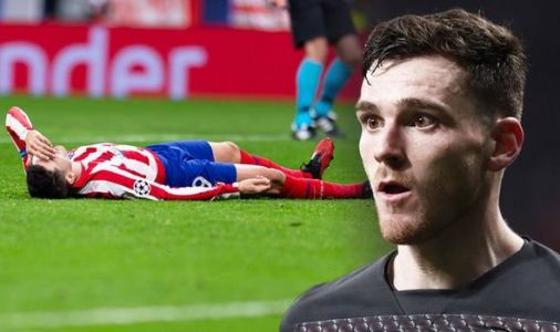Liverpool ace Andy Robertson aims dig at Atletico Madrid stars after Champions League loss