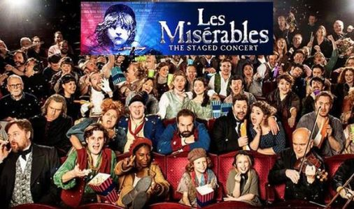 Les Miserables staged concert with Michael Ball and Alfie Boe in 400 CINEMAS this weekend