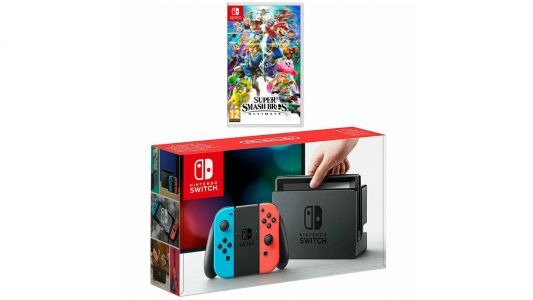 This Nintendo Switch deal with Smash Bros is an Easter Sale winner