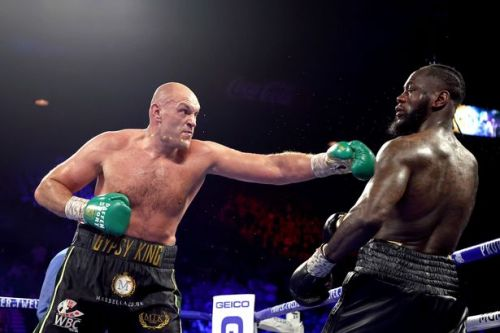 Tyson Fury told to 'hurry up' with Deontay Wilder fight to pave way for Anthony Joshua