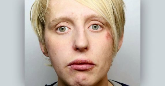 Woman jailed for robbing blind pensioner, 92, who was self-isolating at home