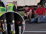 Florida school bus is evacuated after 'excessive amount of Axe body spray' was released as a prank'