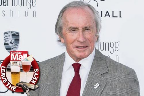 Sir Jackie Stewart warns partygoers to nominate designated driver over Christmas