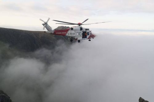 Mountain teams in dramatic rescue after climbers lifted to safety