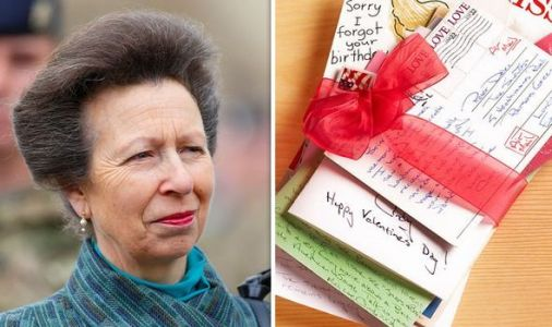Princess Anne's stolen love letters from affair exposed