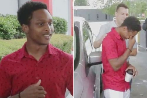 Student walks 20 MILES to first day of work - so boss gives him his car as thanks