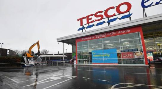 Two arrests after double ATM raid on Antrim Tesco
