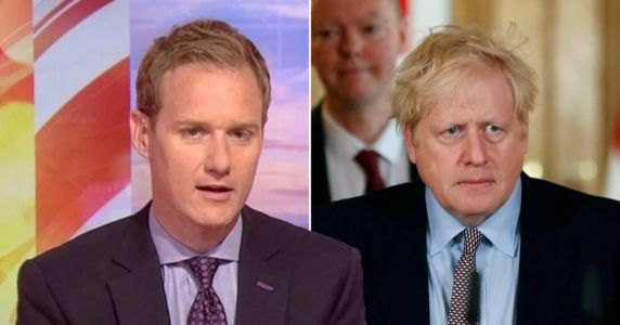 BBC Breakfast's Dan Walker has perfect put down for trolls abusing Boris Johnson as PM fights coronavirus in intensive care