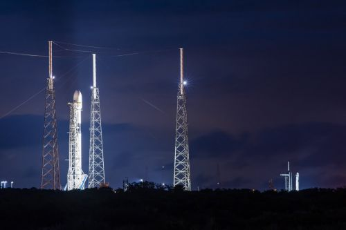 SpaceX rockets await launch opportunities later this week