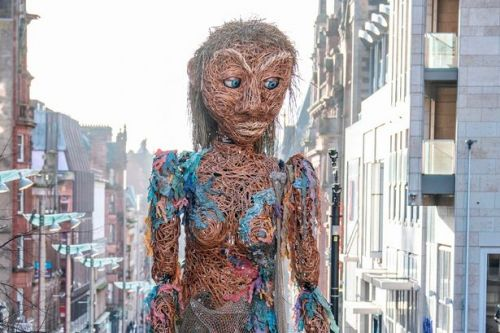 Thousands watch huge puppet Storm parade through Glasgow to open Celtic Connections festival