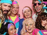 Zooey Deschanel and Jonathan Scott celebrate her 40th birthday with an '80s-themed party