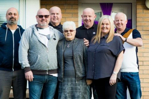 Watch as Hamilton family are reunited at Christmas for the first time in 26 years