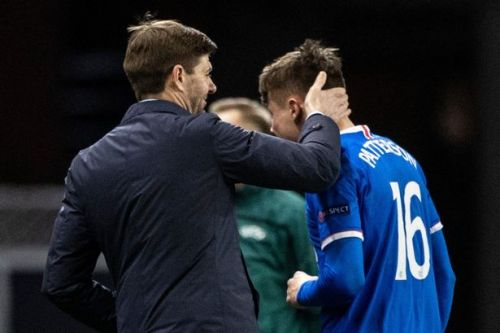 Steven Gerrard insists Nathan Patterson must react to 'biggest learning curve'