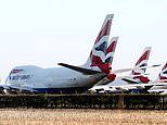 British Airways 'to suspend 36,000 staff days after grounding ALL flights to and from Gatwick'