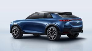 Honda SUV e:concept previews upcoming electric crossover