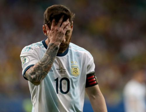 Lionel Messi suffers more agony as Argentina endure nightmare 2-0 loss to Colombia in Copa America opener