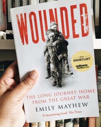 Celebrating the 10th Anniversary of the Wellcome Book Prize With 'Wounded' by Emily Mayhew