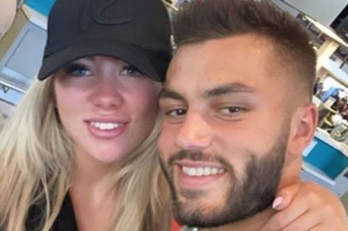 Love Island winners Paige Turley and Finn Tapp share loved-up airport selfie as they travel back home