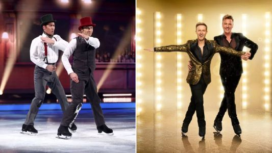 Ian 'H' Watkins received cold message from Strictly Come Dancing after historical Dancing On Ice same-sex routine