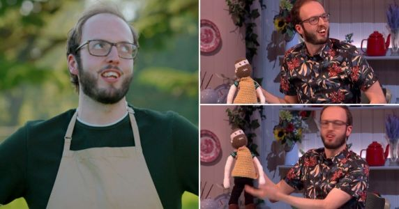 Bake Off 2021: Eliminated contestant Tom reveals delightful crocheted mini-me mascot and we'll take two