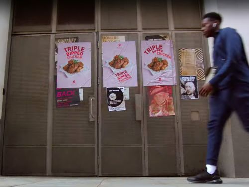 A social experiment eerily predicted teenagers would all order 'triple dipped chicken' at a restaurant after they were unconsciously targeted by influencer ads and posters