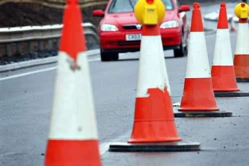 A9 road works set impact on traffic this weekend