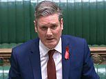 Labour leader Keir Starmer is forced to self-isolate and work from home until mid-December
