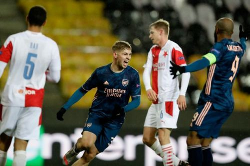 Slavia Prague suffer Europa League skelping at the hands of Arsenal