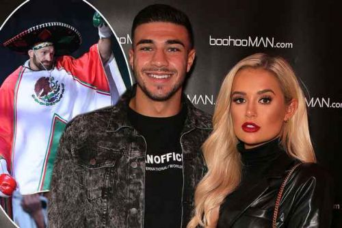 Love Island's Molly-Mae and Tommy support Tyson Fury at Las Vegas fight