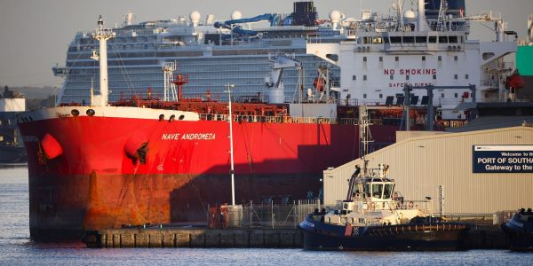 Britain's equivalent of the Navy SEALs stormed an oil tanker, ending a suspected hijacking off the UK coast