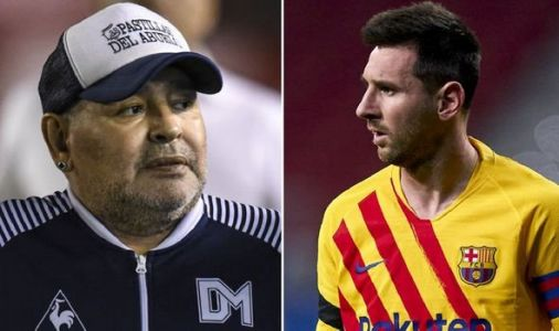 Diego Maradona dead: Argentina icon 'inspired' Lionel Messi - 'Greatest there's ever been'