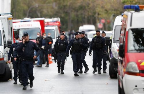 Four People Wounded In Knife Attack Near Former Charlie Hebdo Offices